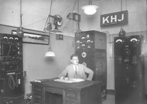 KHJ-AM radio in 1927